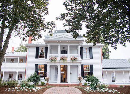 North Carolina wedding planner -North Carolina wedding venues - Mims House - Leslie Alford Mims House