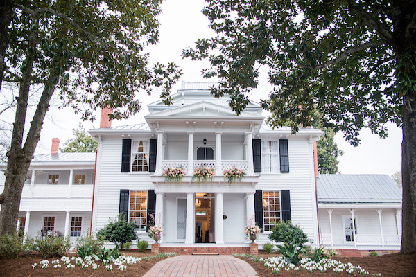 North Carolina wedding planner -North Carolina wedding venues - Mims House - Leslie Alford Mims House
