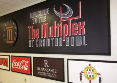 Multiplex-signage