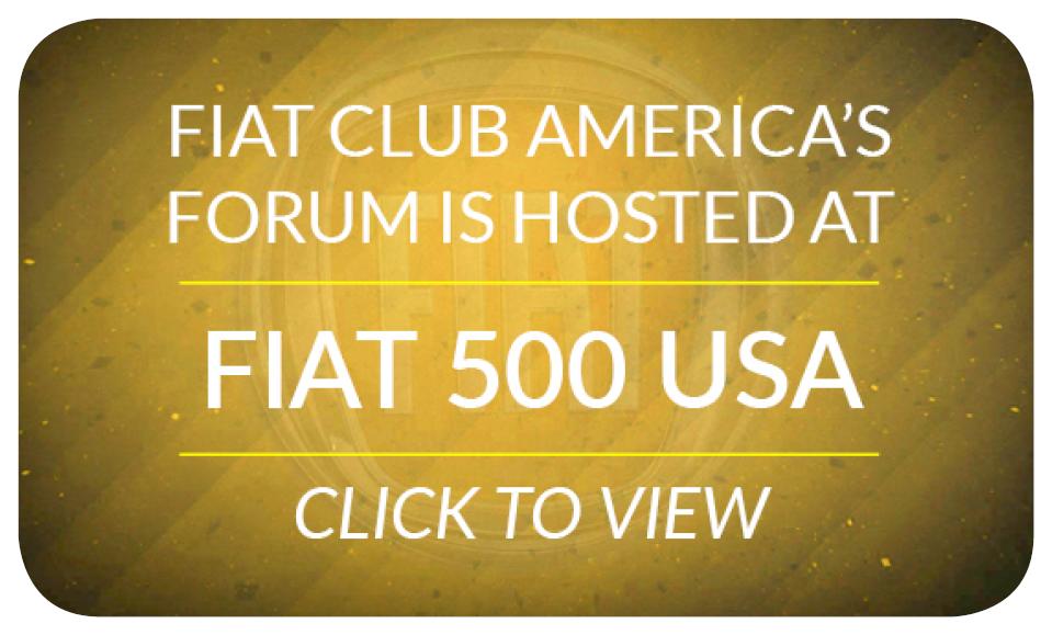 FIAT 500 USA - forum