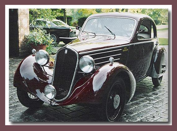 Fiat 508 Balilla Mille Miglia Berlinetta