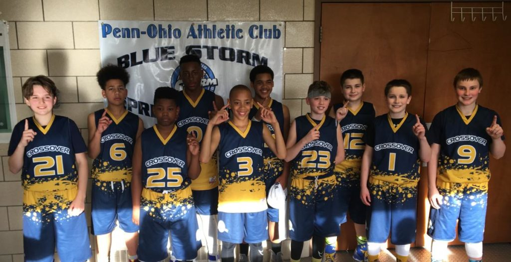 6th grade boys Sharon Tournament Division Champ