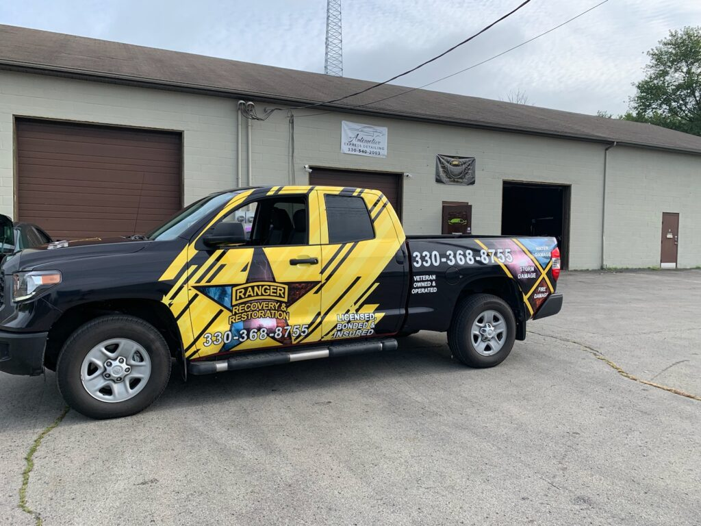 truck wrap pick up truck