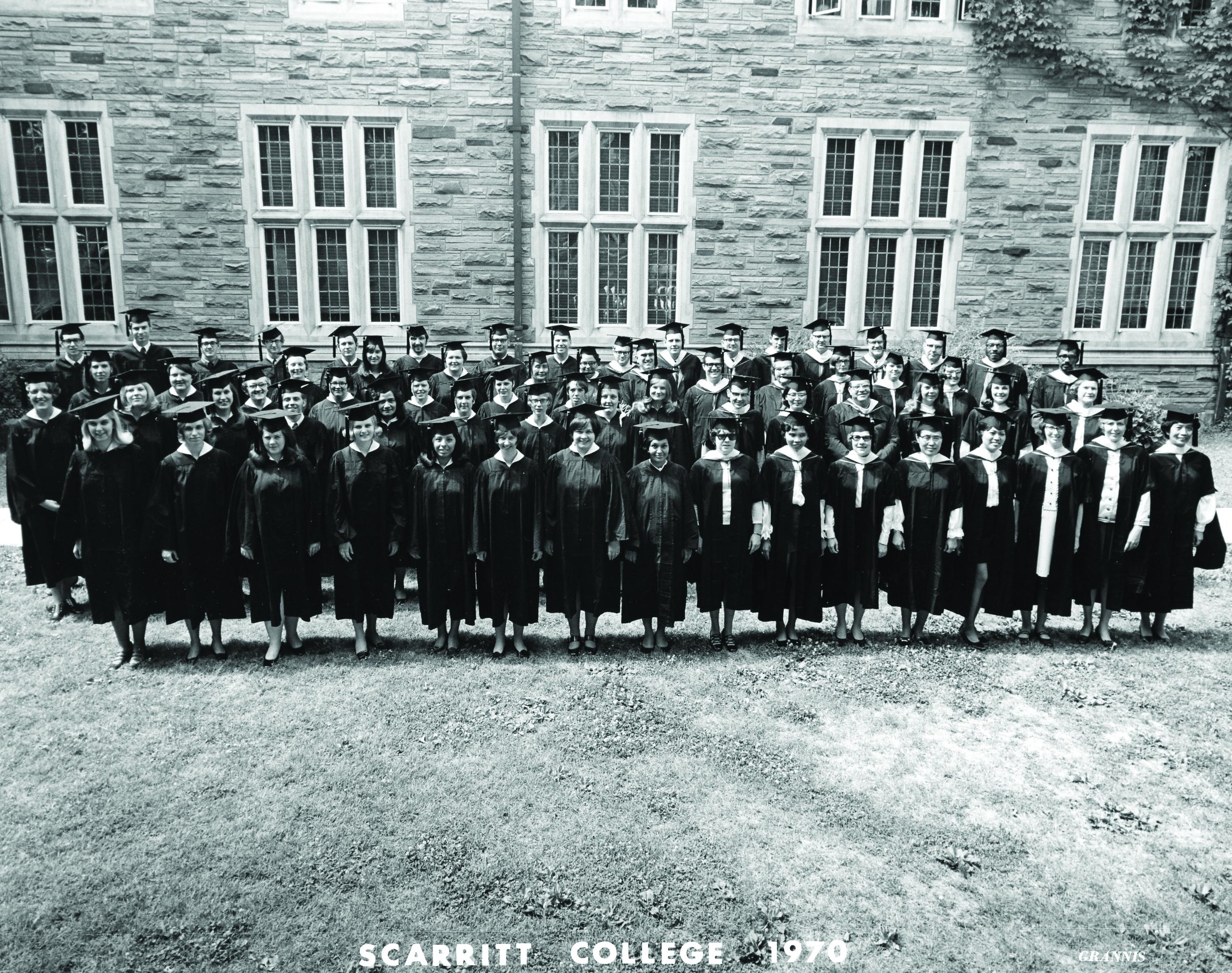Scarritt College 1970 graduating class
