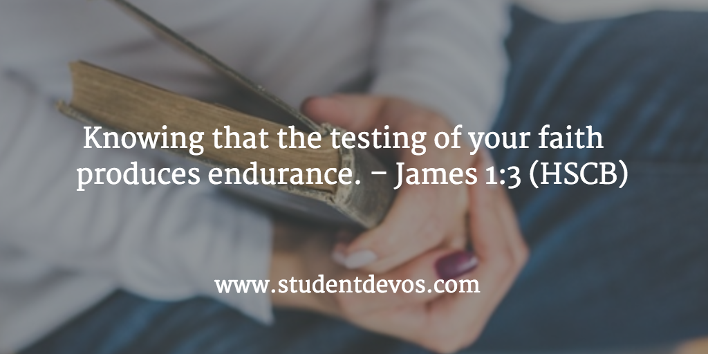 Daily BIble Verse - Tests and Trials of Life