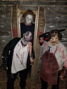 Bango Haunted Crib Monsters at scary haunted house