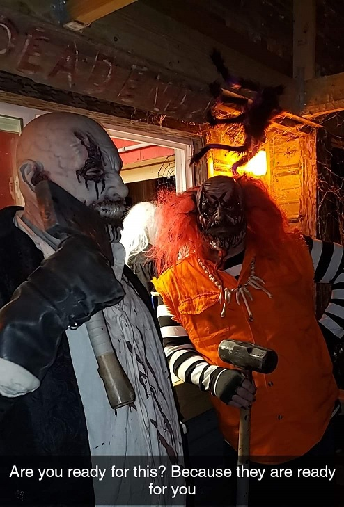 Bango Haunted House Actors