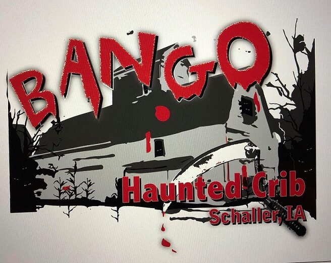 Bango Haunted House Logo