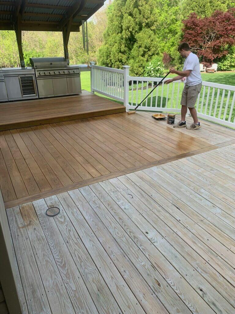 vantrease deck-during