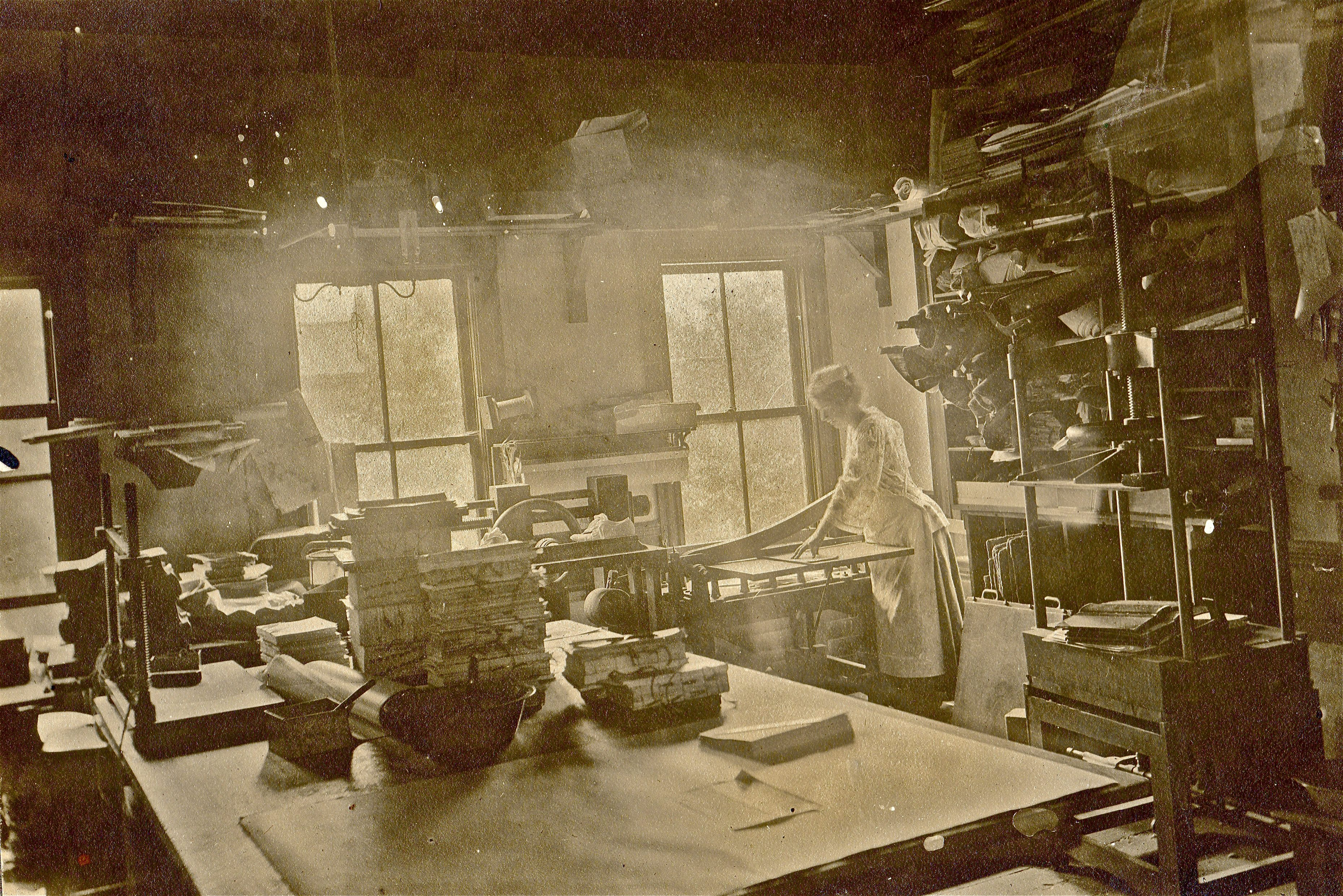 Early 1900s - Holzer Bindery