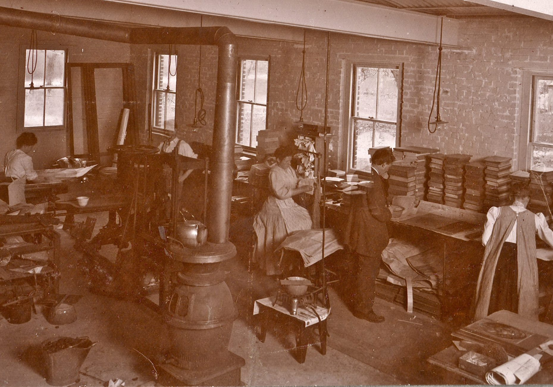 Original Holzer Bindery circa early 1900s