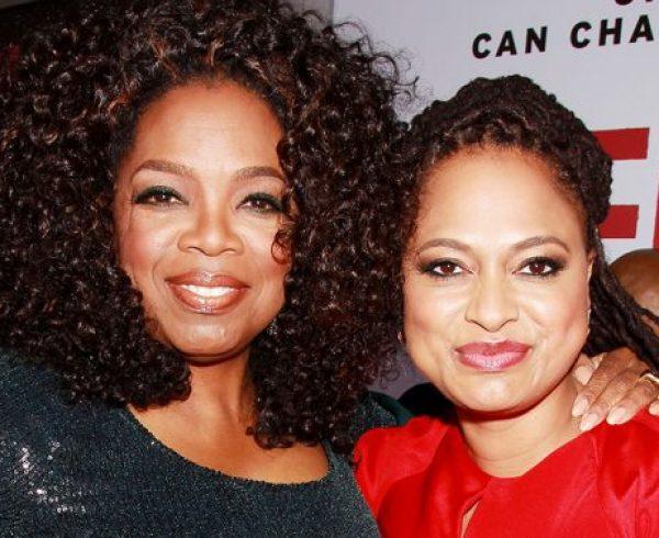 Oprah Winfrey and Ava DuVernay