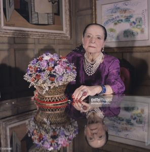 Helena Rubenstein in her apartment, courtesy Getty Images.