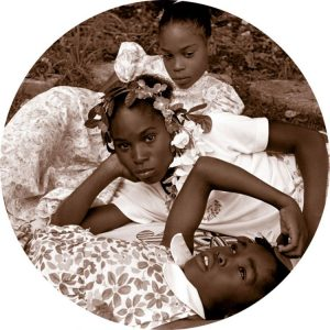 Carrie Mae Weems, May Flowers, 2002, C-print, 31 x 31 inches, 33 1/2 x 33 1/2 inches framed, Courtesy Jack Shainman Gallery