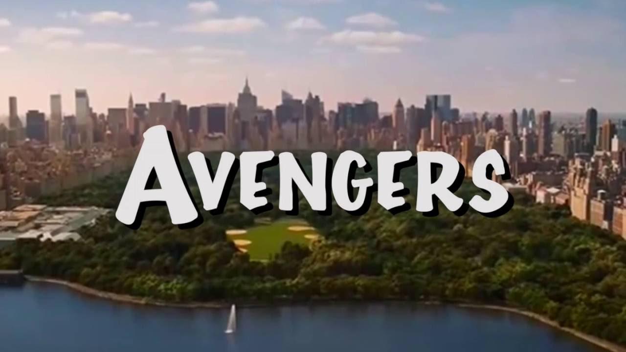 Avenger Full House TItle Screen