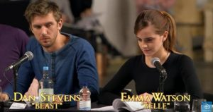 Beauty and the Beast Table Read Dan and Emma