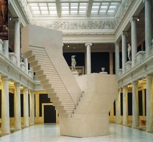 Rachel Whiteread, Untitled (Domestic), 2002. In the Carnegie Museum's Hall of Sculpture