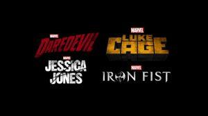 Netflix Iron Fist, Luke Cage, Jessica Jones, Daredevil
