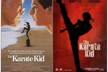 Karate Kid Comparison