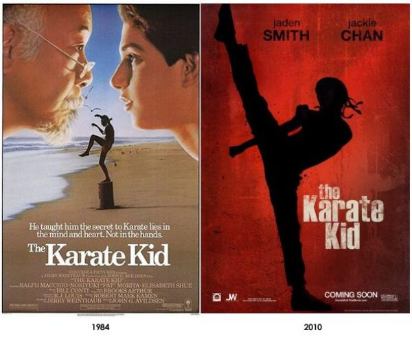 Karate Kid Comparison