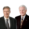 Ted Malloch and Whitney MacMillan