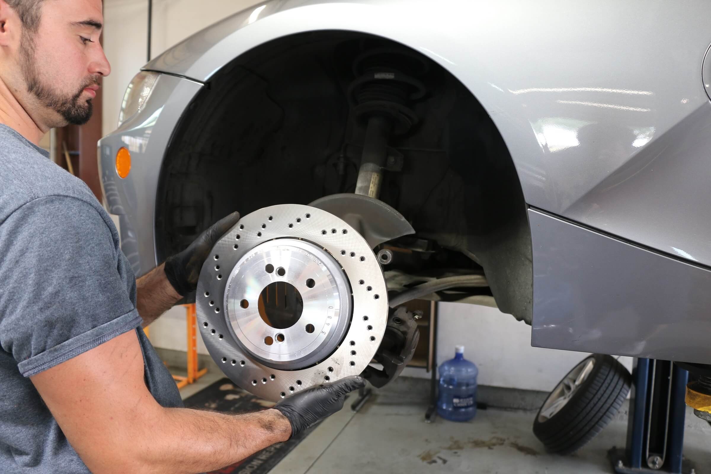 Audi Brake Repair Service in Plano Texas