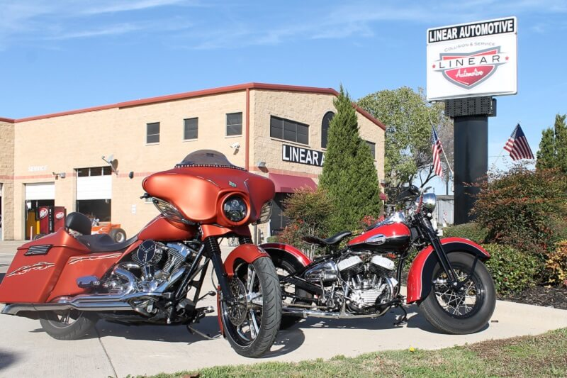Custom Motorcycle Services in Plano Texas