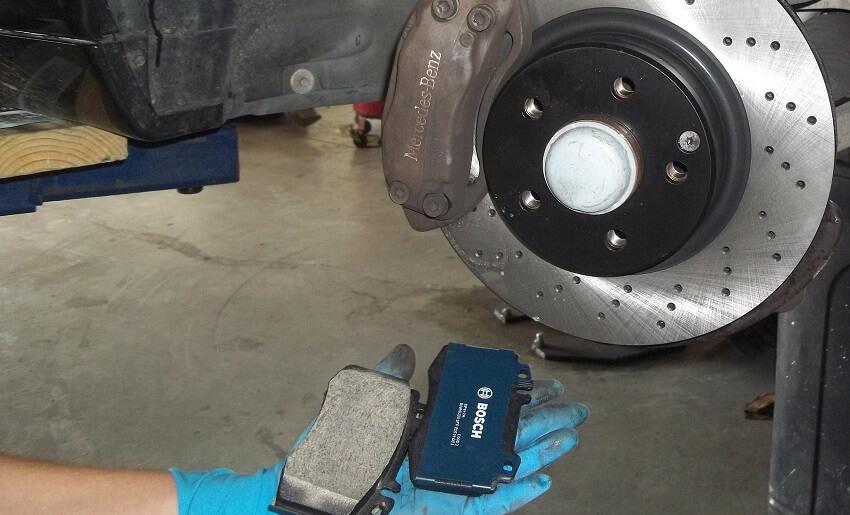 Mercedes Brake Service Plano Richardson Allen McKinney Texas