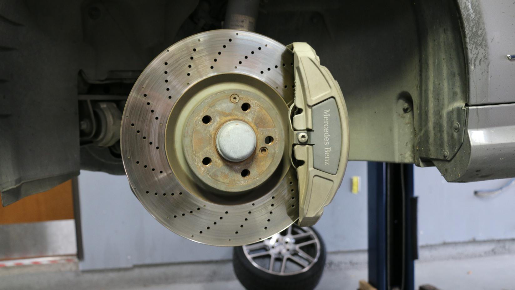 Mercedes Brake Service
