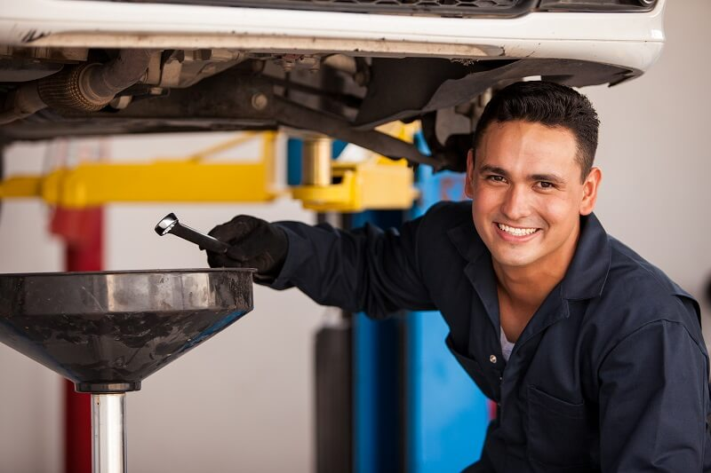 Oil Change Automotive Services in Plano Texas