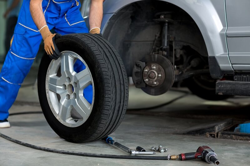 Tire Rotation Automotive Service in Plano Texas