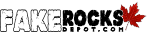 Fake Rocks Depot - Logo - (Long) 150