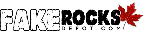 Fake Rocks Depot – Logo – (Long) 600