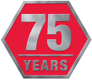 Adhezion's 75 Years of Combined Dispensing Equipment Icon