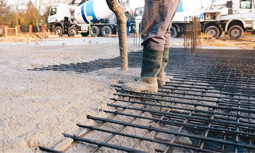 Individual Pouring Cement