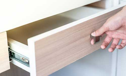 Hand Opening Drawer