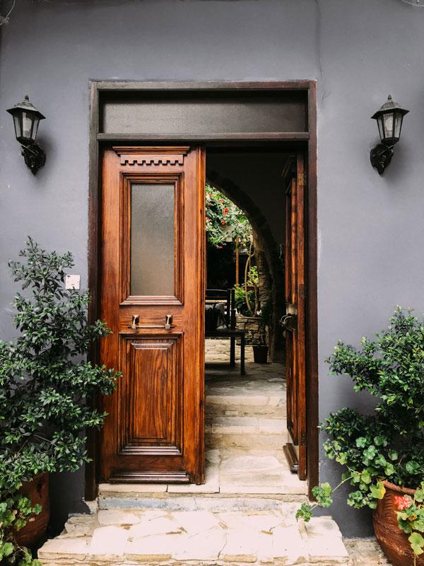 opened-brown-wooden-french-door-1544420