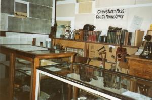 Mine Office display