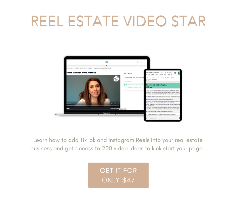 tik tok for real estate agents