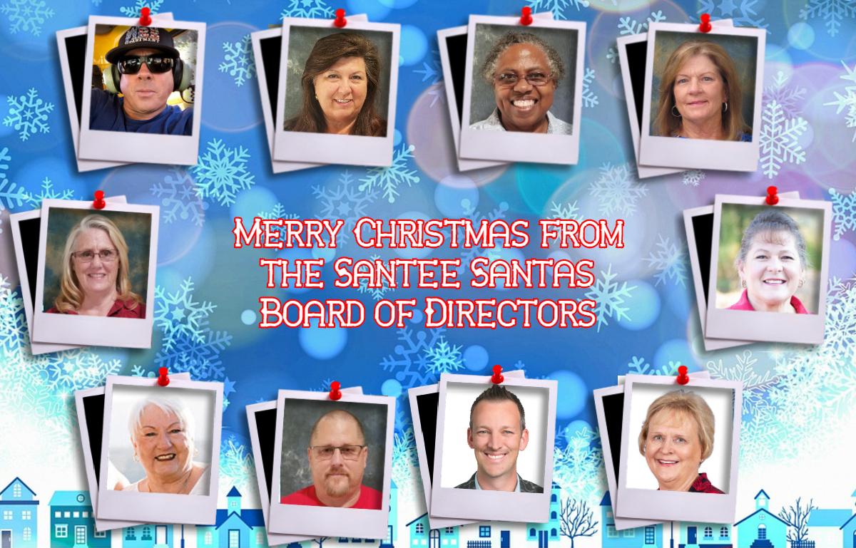 Santee Santas Board of Directors 2020