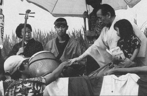 Director Kayo Hatta and actor Toshiro Mifune