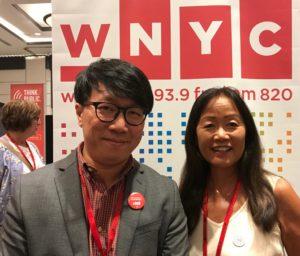 Richard Yeh, WNYC, and Heidi Chang