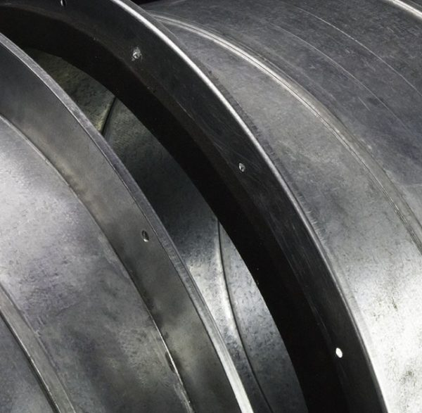 ECONOflange round duct connector