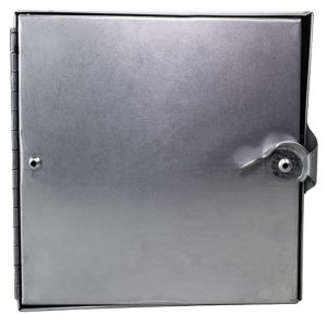 square framed access door
