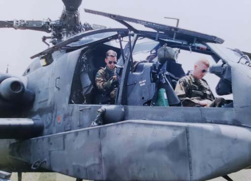 Pilot In Command (PIC) time in an Apache.
