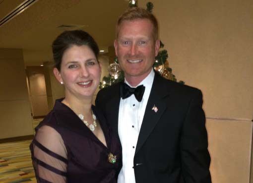 Me and my bride at a black tie in DC.