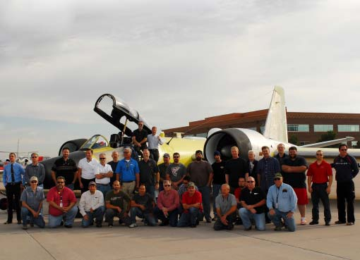 We restored the oldest aircraft to ever come out of the DoD boneyard.