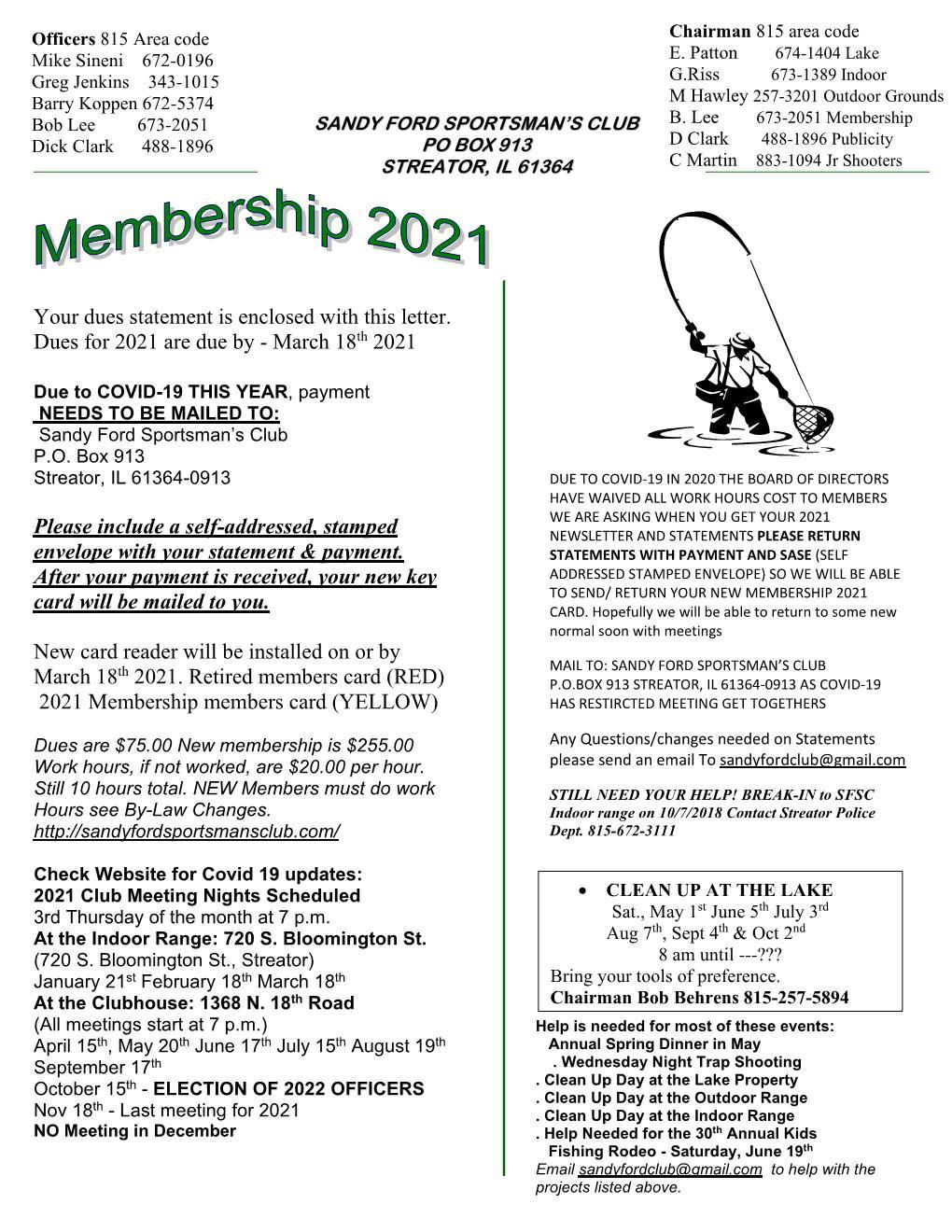 Membership 2021-1 send newsletter-1