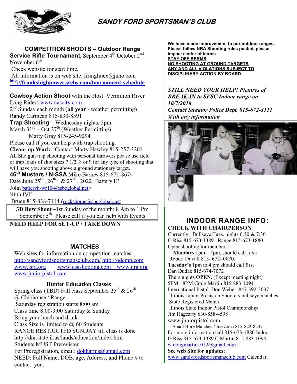 Fall newsletter 2021- 2