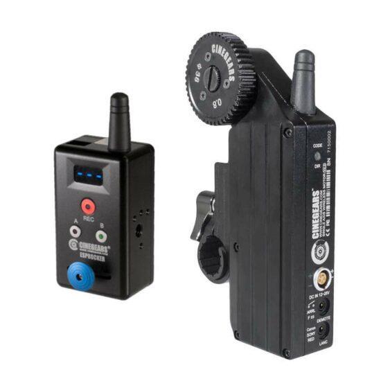 CINEGEARS Rocker Controller Wireless Follow Focus Kit